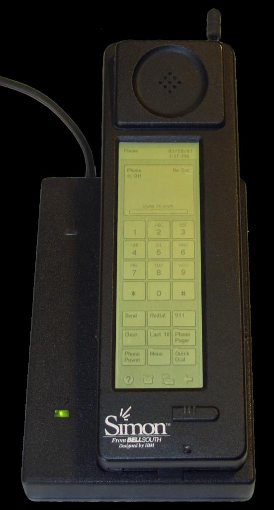 Il primo smartphone IBM, il Simon