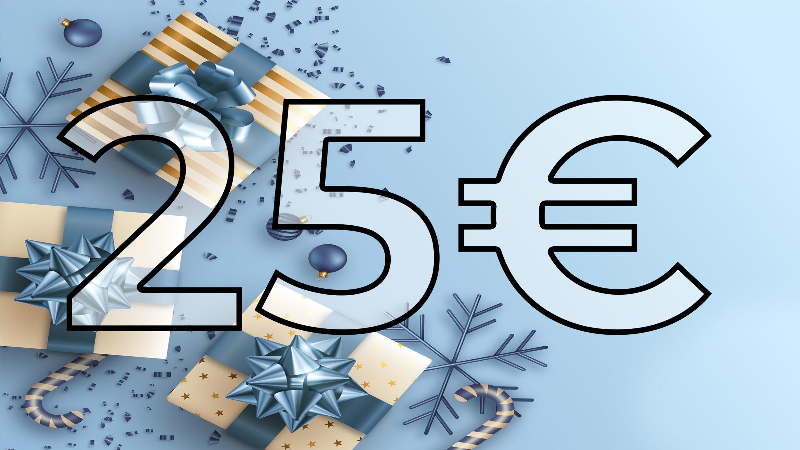 Guida ai regali di Natale 2020| Sotto i 25€
